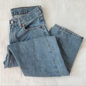 LEVI'S   Vintage Mom 550 Light Wash Jeans Sz 30